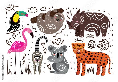 Zwierzęta dżungli
