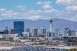 Vegas Strip, 3.8 mile stretch featured with world class hotels and casino in Las Vegas, Nevada