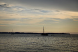 Sunset at the Slovene coast in Piran - 208040916