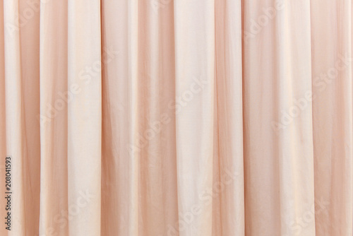 Foto Murales red curtain in the comfortable room for background