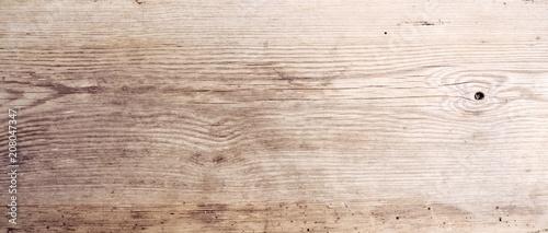 Rustikaler Holz Hintergrund - altes Holzbrett - Holztisch - 208047347