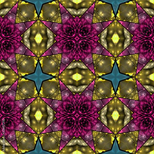 Abstrakt fraktal geometrisch muster