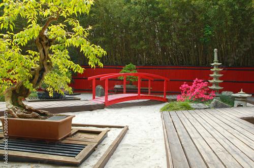 Fotobehang Zen Stenen Jardin japonais