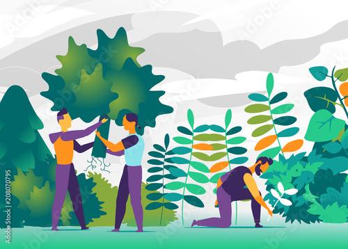 Ludzie z zielonym kciukiem