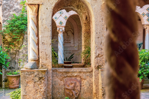 Ravello, klasztor, Wybrzeże Amalfi, Włochy