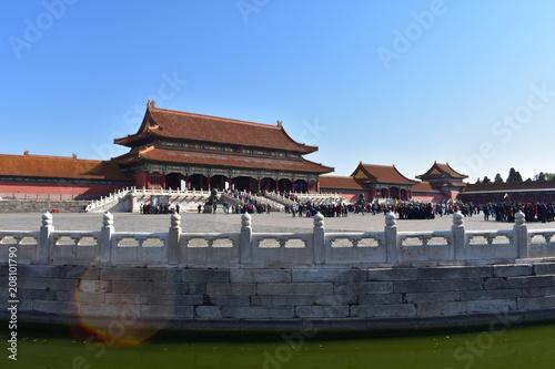 Fotobehang Peking china