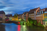 Traditional colorful houses in Strasbourg - Alsace France - 208107567