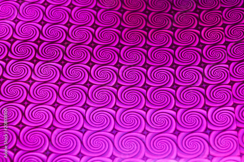 Abstract background with drawn ornament and blur - 208108104