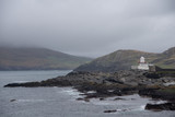 View fromValentia Island with light house at cromwell point