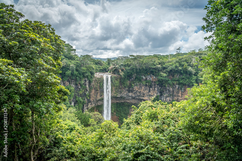 Chamarel Waterfall, Mauritius - 208131347