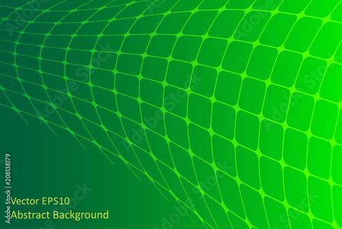 Fotobehang Abstractie Art Green abstract background