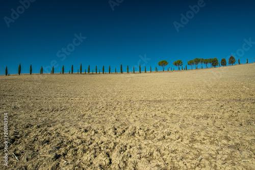 Aluminium Toscane Tuscan countryside