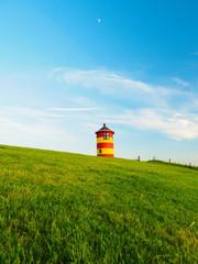 Ostfriesland Pilsumer Leuchturm Deich Greetsiel © prempict