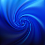 Blue swirl background. Abstract vector illustration - 208150575