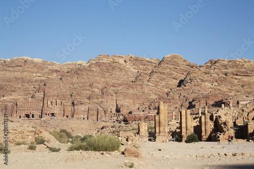 Aluminium Zalm La cité de roche de Pétra - Jordanie