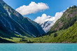 Mountains and Valleys Along Alaska's Tracy Arm Fjord
