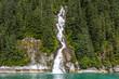 Alaskan Fjord Waterfall - 208180144