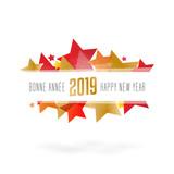 Bonne année / Happy new year 2019 - 208195110