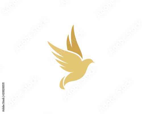 bird wing dove logo template buy photos ap images detailview