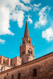 Saint Andrea basilica - italian renaissance architecture - travel destinations - Mantua italy  - 208208143