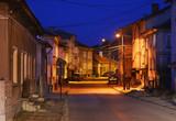 Old street in Belogradchik. Bulgaria