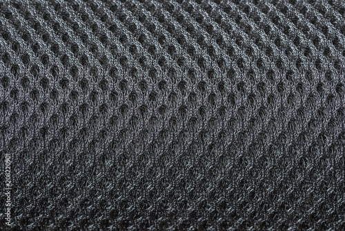 Background nylon or polyester texture.