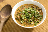 Methi Mushroom mattar malai is an easy and simple dish North Indian dish. Fenugreek leaves and green peas makes this recipe tasty and delicious and served with roti, naan, parathas. - 208222394