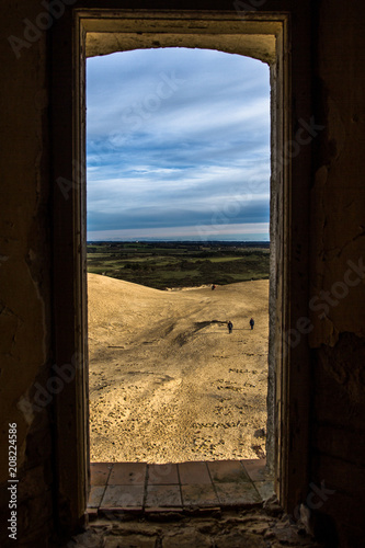 Foto Murales Looking through the window in Denmark