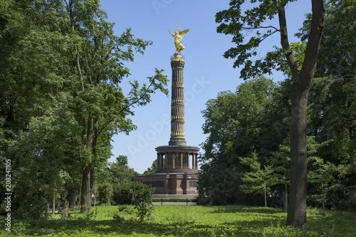 Fotobehang Berlijn Berlin Victory Column in Berlin, Germany