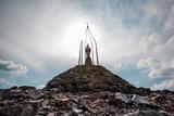 Вершина горы Хомяк
