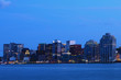 Halifax, Nova Scotia skyline at night
