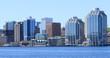 Halifax, Nova Scotia city center on a beautiful day