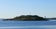 Georges Island in Halifax, Nova Scotia, Canada