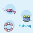 Fishing water sport