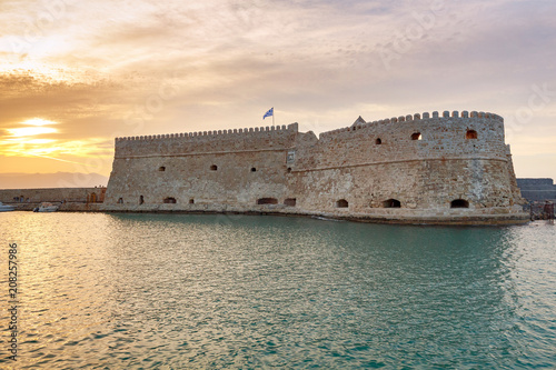 Foto Murales Heraklion. The old Venetian fortress.