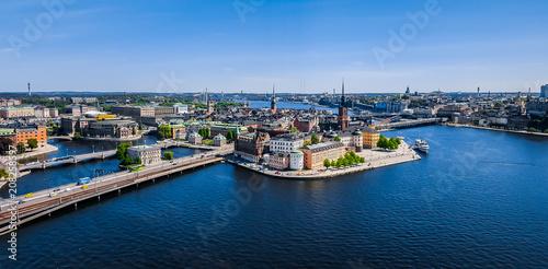 Fotobehang Stockholm View of Stockholm, Sweden