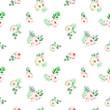 Elegant watercolor seamless pattern - 208261342