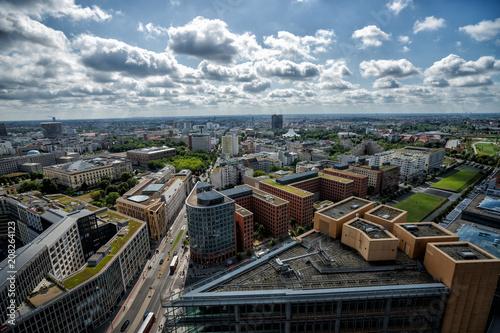Fotobehang Berlijn Panorama Berlin
