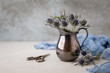 Blue Thistle Still Life