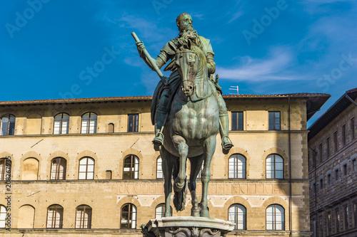 Aluminium Florence Equestrian Monument of Cosimo I in Florence