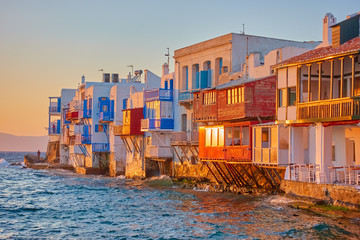 Little Venice in Mykonos