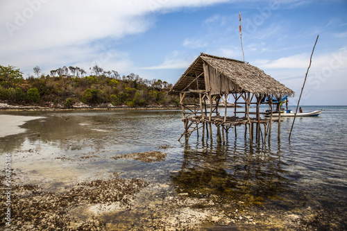 Fotobehang Tropical strand Praia Indonésia