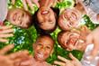 Quadro Kinder als Freunde bilden einen Kreis