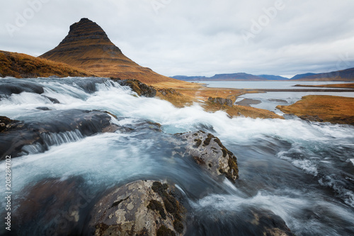 Kirkjufell in Iceland during Autumn