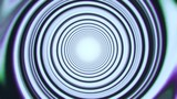 White Space Time Warp Tunnel Vortex Loopable Motion Background - 208330964