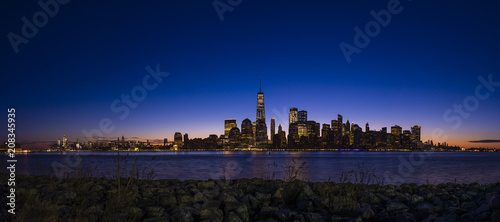 Manhattan Sunrise Pano 1 - 208345935