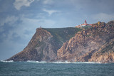 Cabo da Roca Lighthouse with small tourists - 208346311