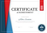 Modern certificate template - 208350168