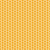 Cute cartoon honeycomb seamless pattern background. Vector illustration. - 208357772