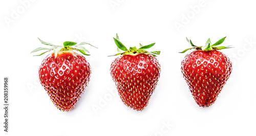 Foto Murales Erdbeeren